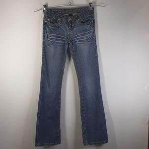 Blue Asphalt Women's Blue Jeans Size 5